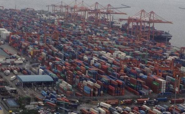 Current West Coast Port