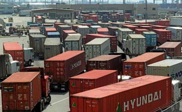 West Coast port slowdown