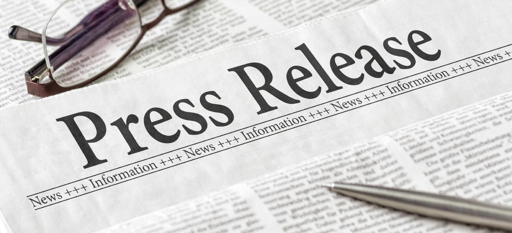 Breaking News press release