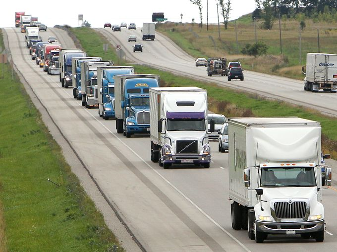 convoy trucking app