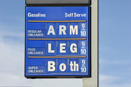 oil price rising