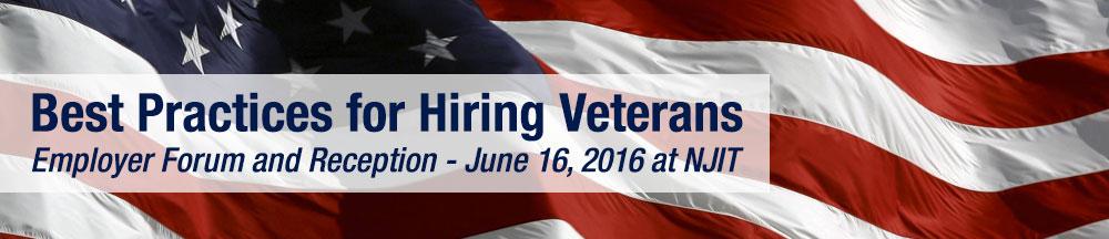 NJIT Hiring Veterans