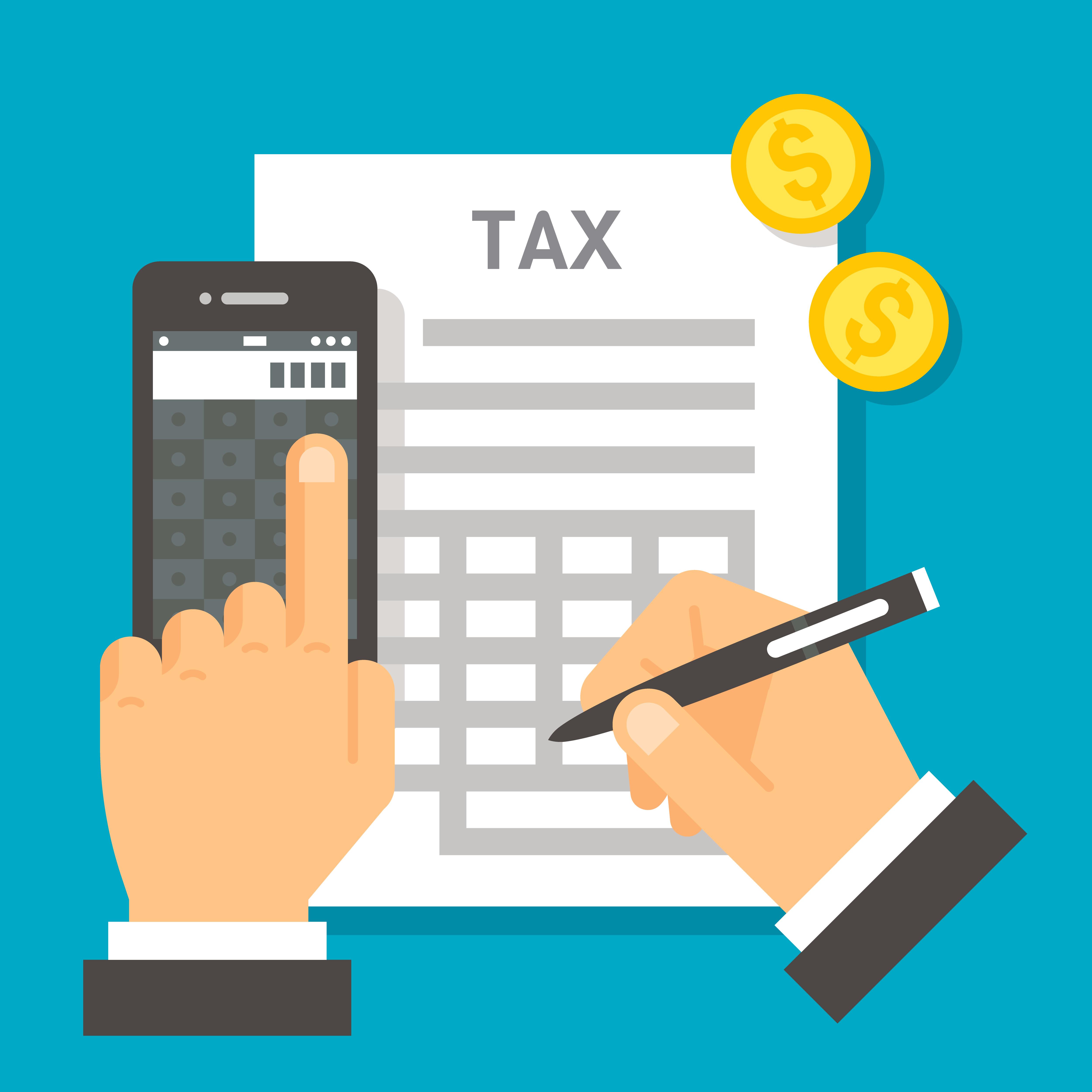 Taxes on gross receipts