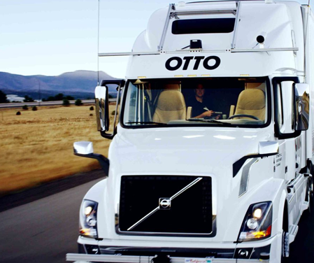 Otto self driving semi truck