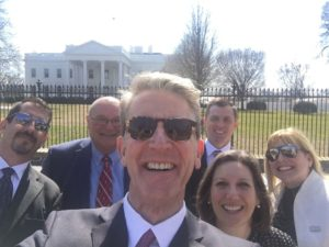 Tony Uphoff at The White House