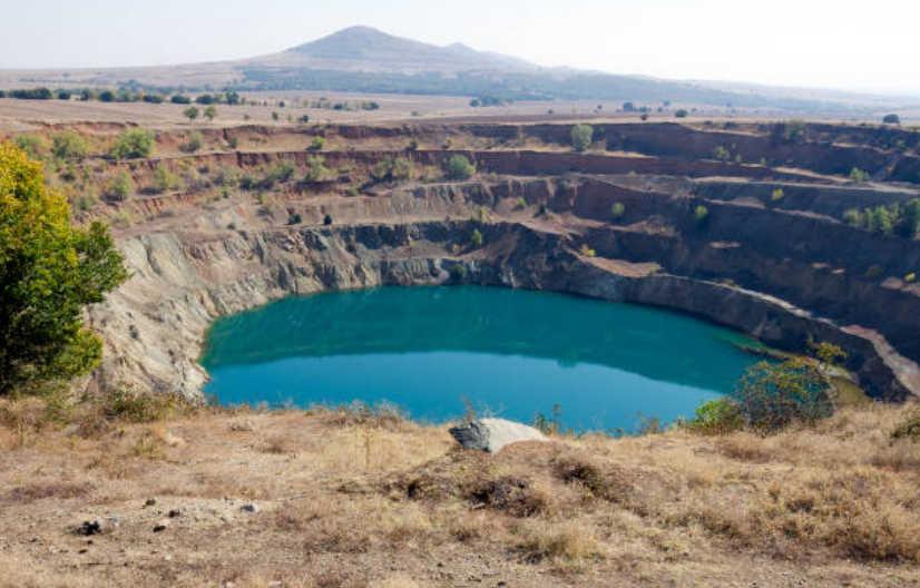 Strip Mine in Africa