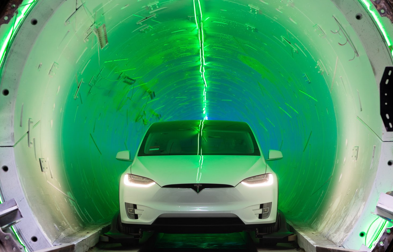 Boring OCmpany Tunnel