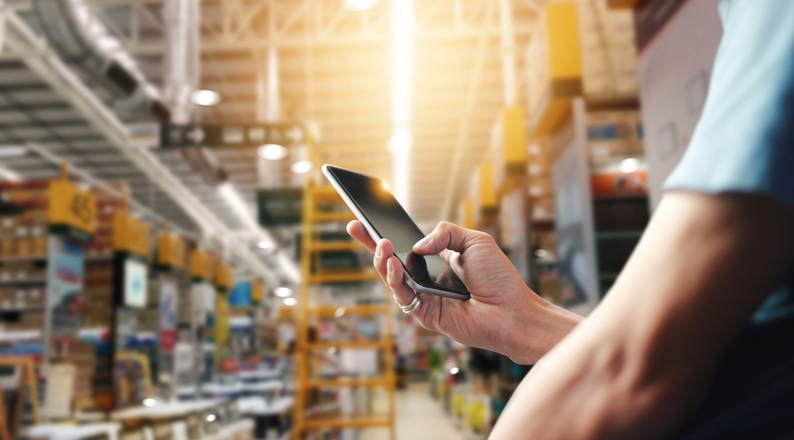 mobile data in manufacturing